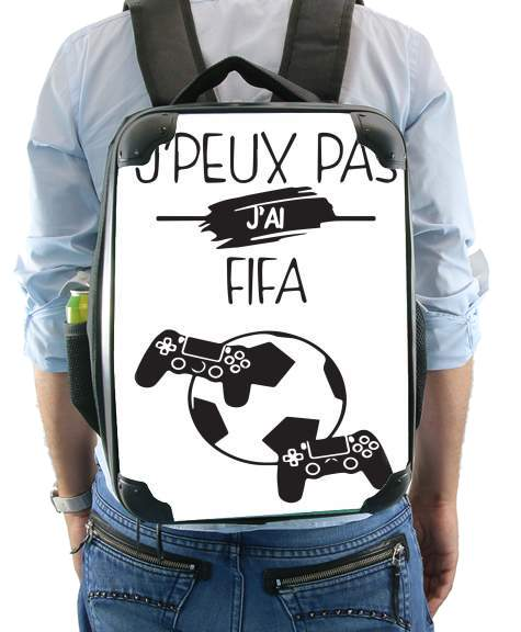 Je peux pas j ai fifa for Backpack