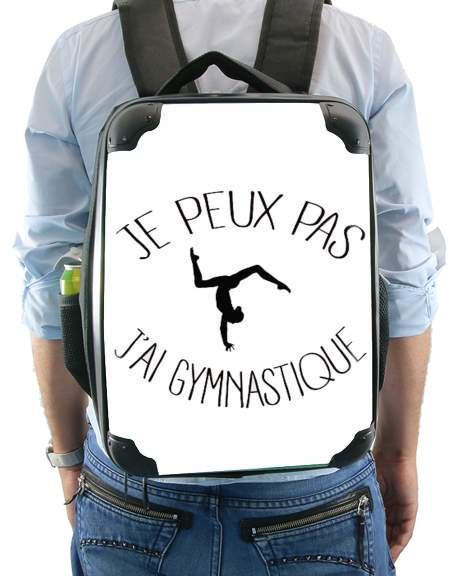Je peux pas j ai gymnastique for Backpack