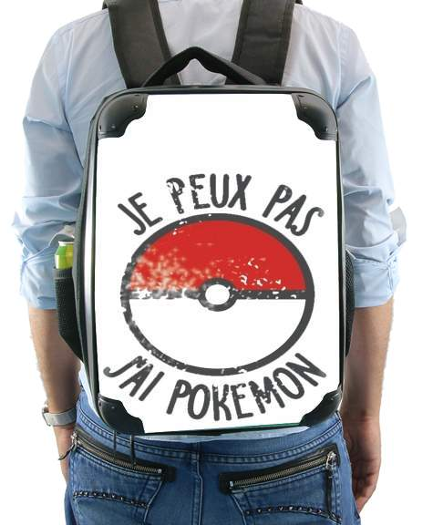 Je peux pas j ai Pokemon for Backpack