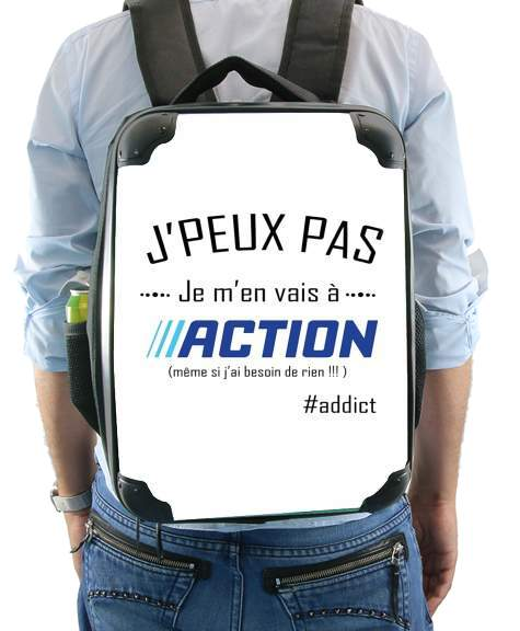 Je peux pas jai action for Backpack