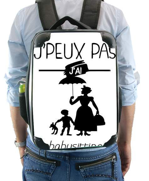 Je peux pas jai babystting comme Marry Popins for Backpack