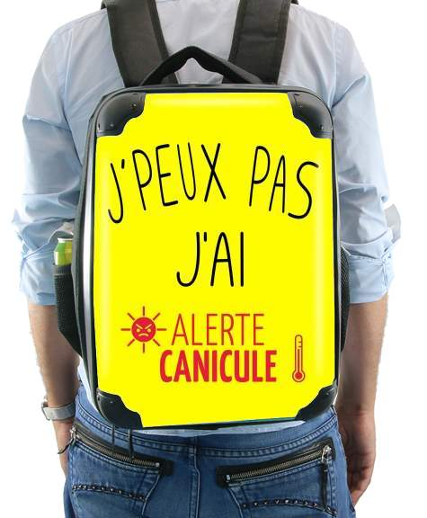 Je peux pas jai canicule for Backpack