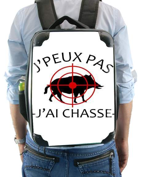 Je peux pas jai chasse for Backpack