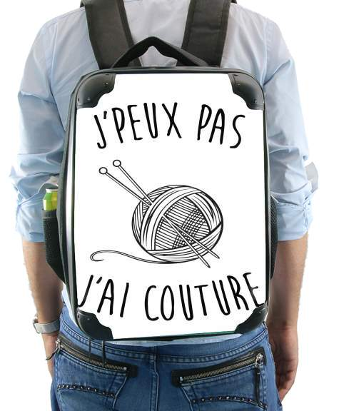 Je peux pas jai couture for Backpack
