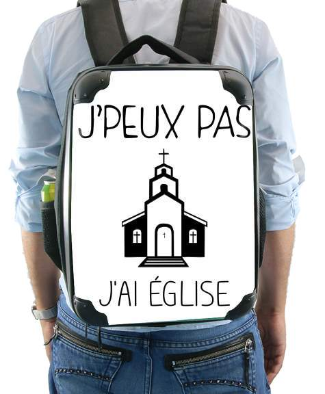 Je peux pas jai eglise for Backpack