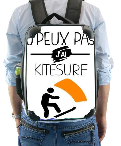 Je peux pas jai kitesurf for Backpack