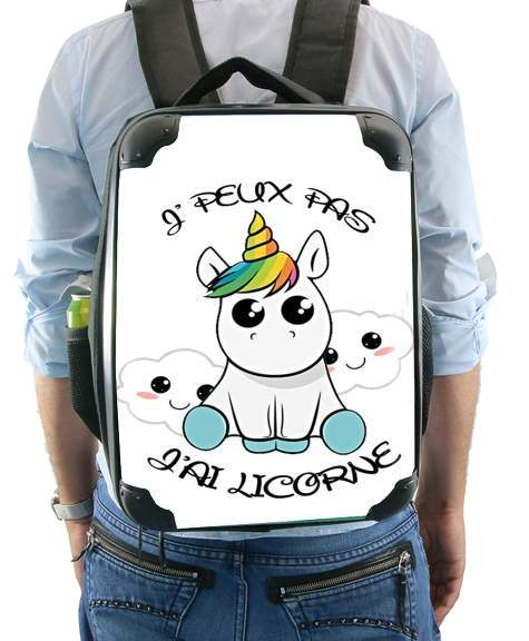 Je peux pas j'ai licorne for Backpack