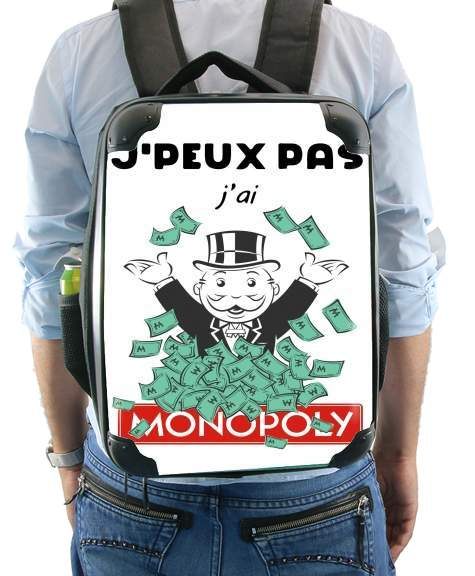 Je peux pas jai monopoly for Backpack