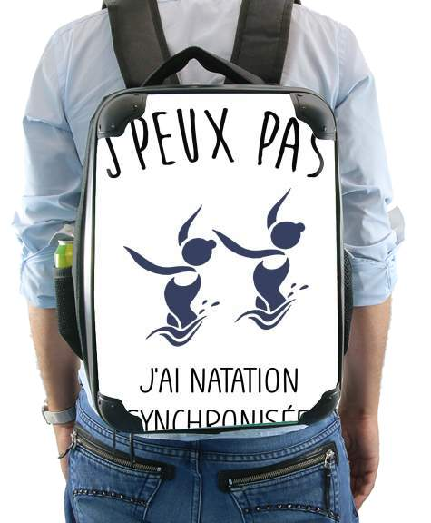 Je peux pas jai natation synchronisee for Backpack