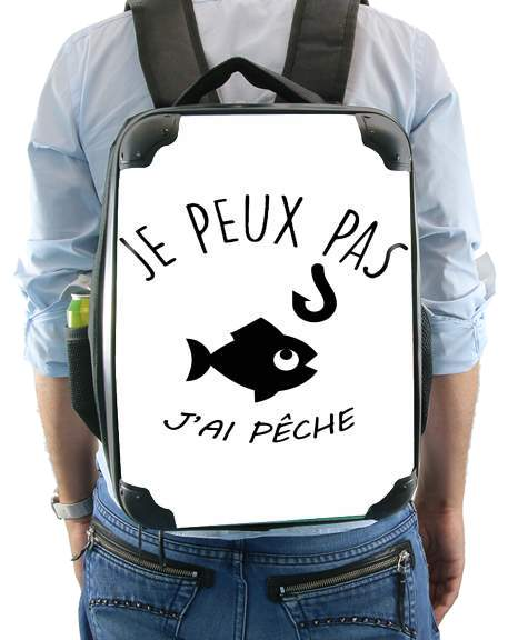 Je peux pas jai peche for Backpack