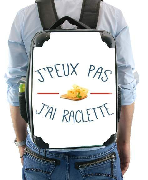 Je peux pas jai raclette for Backpack