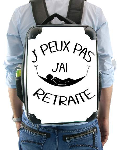 Je peux pas jai retraite for Backpack