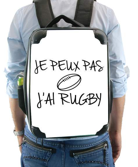 Je peux pas jai rugby for Backpack