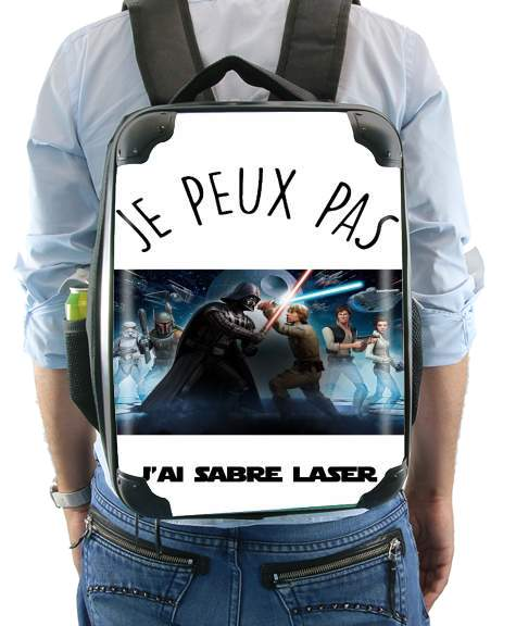 Je peux pas jai sabre laser for Backpack