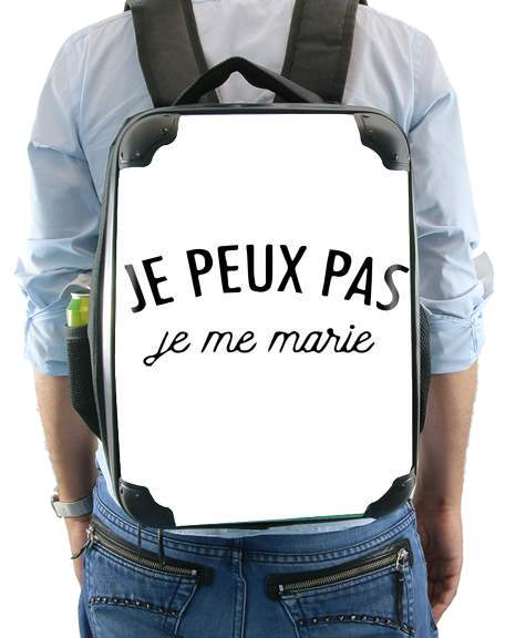 Je peux pas je me marie for Backpack
