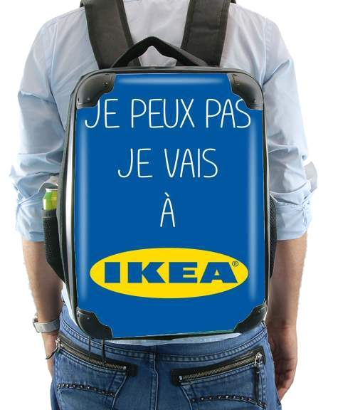 Je peux pas je vais a ikea for Backpack