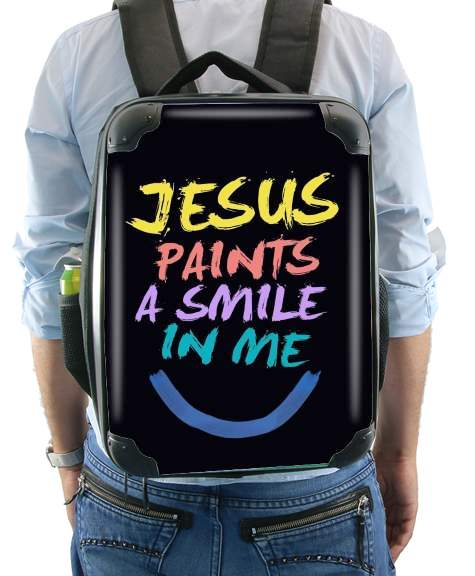 Jesus paints a smile in me Bible for Backpack