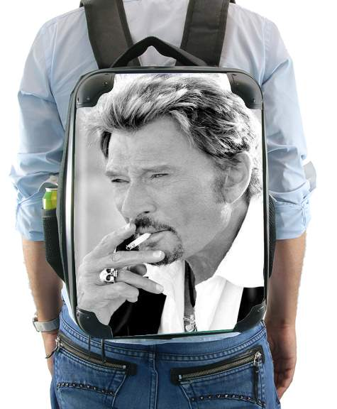 johnny hallyday Smoke Cigare Hommage for Backpack