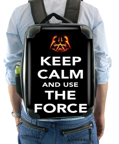 Keep Calm And Use the Force for Backpack