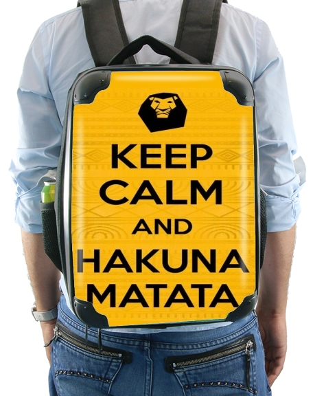 Keep Calm And Hakuna Matata for Backpack