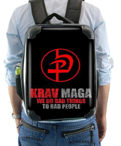 Krav Maga Bad Things to bad people for Backpack