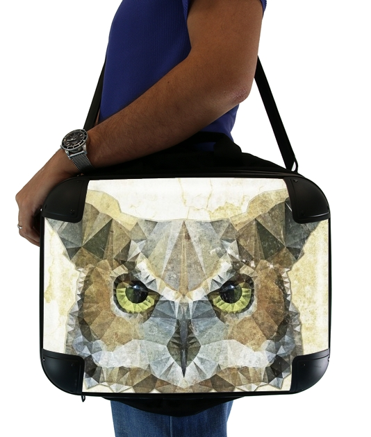 "abstract owl for Laptop briefcase 15"" / Notebook / Tablet"