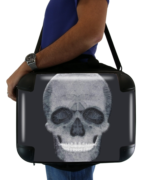 "abstract skull for Laptop briefcase 15"" / Notebook / Tablet"