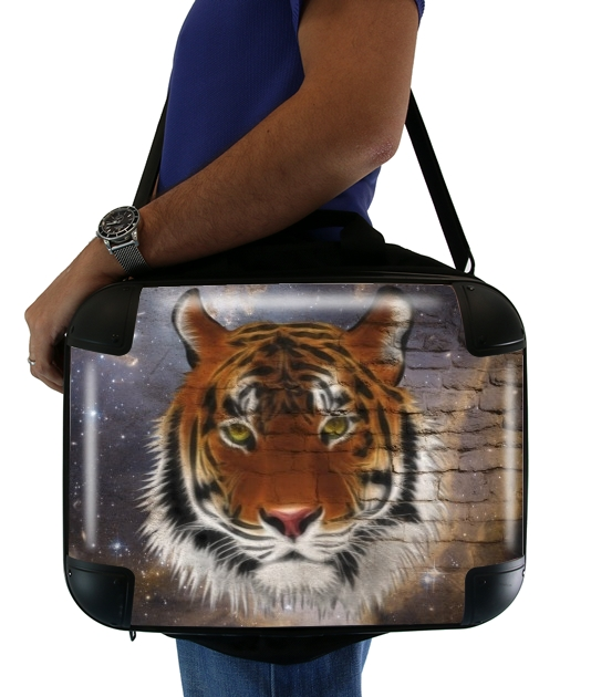 "Abstract Tiger for Laptop briefcase 15"" / Notebook / Tablet"