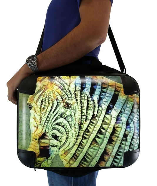 "abstract zebra for Laptop briefcase 15"" / Notebook / Tablet"