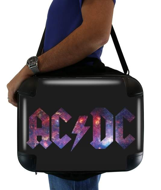 "AcDc Guitare Gibson Angus for Laptop briefcase 15"" / Notebook / Tablet"