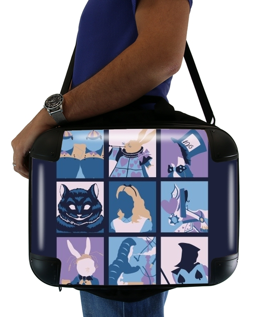 "Alice pop for Laptop briefcase 15"" / Notebook / Tablet"