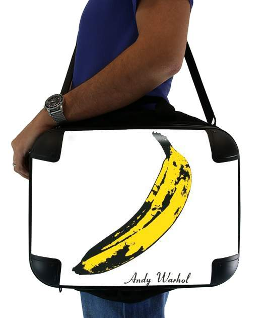 "Andy Warhol Banana for Laptop briefcase 15"" / Notebook / Tablet"
