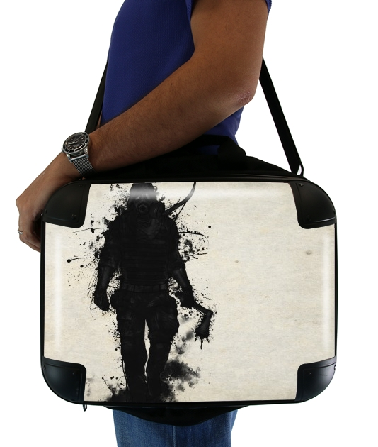 "Apocalypse Hunter for Laptop briefcase 15"" / Notebook / Tablet"