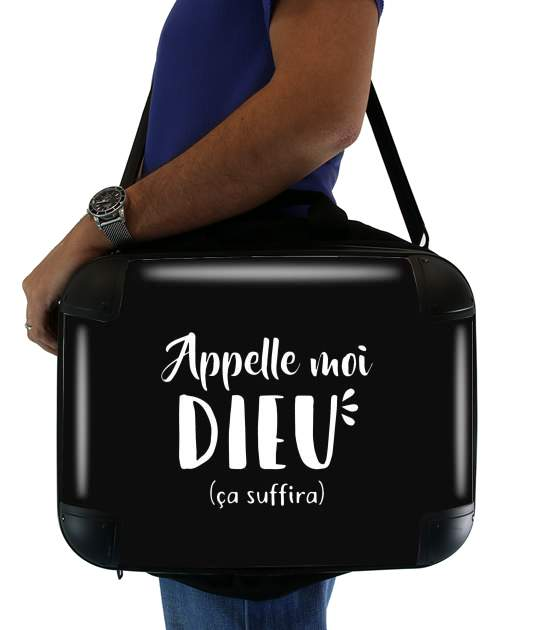"Appelle moi dieu for Laptop briefcase 15"" / Notebook / Tablet"