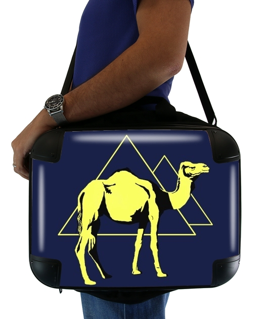 "Arabian Camel (Dromedary) for Laptop briefcase 15"" / Notebook / Tablet"