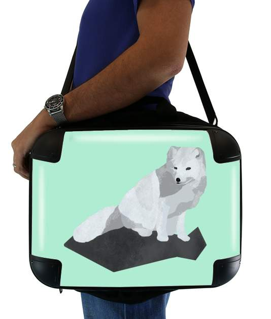 "Arctic Fox for Laptop briefcase 15"" / Notebook / Tablet"