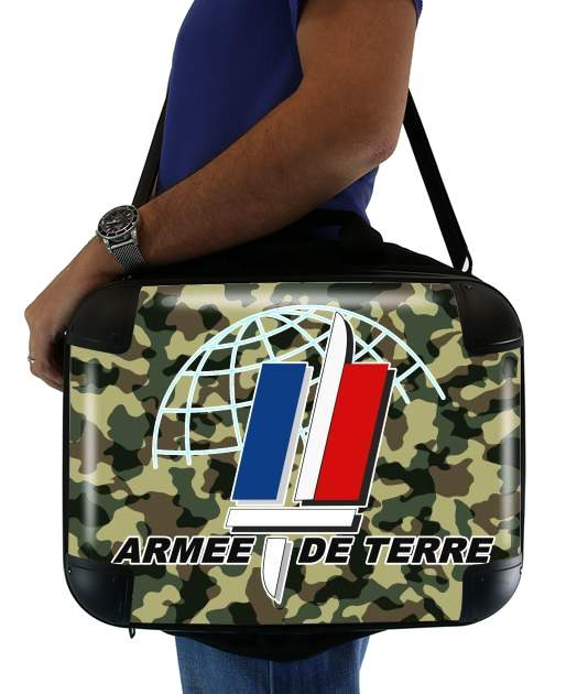"Armee de terre - French Army for Laptop briefcase 15"" / Notebook / Tablet"