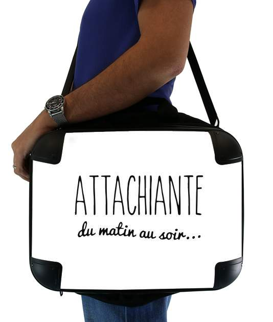 "Attachiante du matin au soir for Laptop briefcase 15"" / Notebook / Tablet"