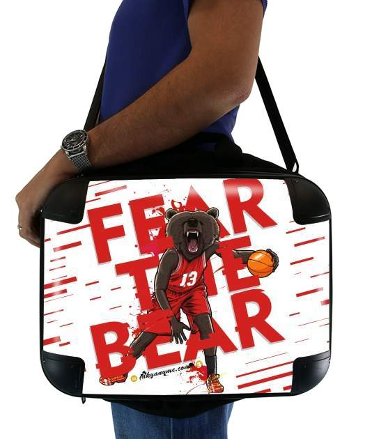 "Beasts Collection: Fear the Bear for Laptop briefcase 15"" / Notebook / Tablet"