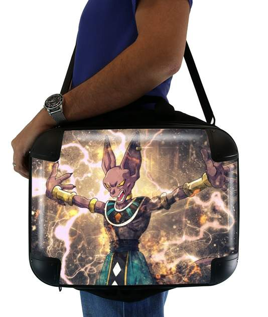 "Beerus for Laptop briefcase 15"" / Notebook / Tablet"
