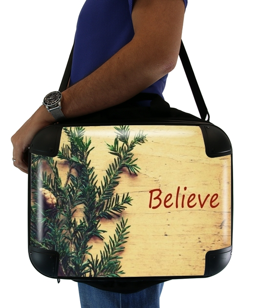"Believe for Laptop briefcase 15"" / Notebook / Tablet"