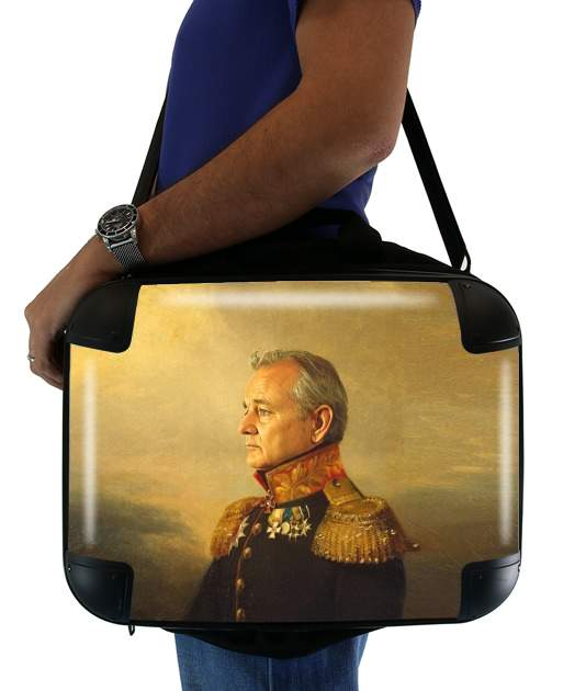 "Bill Murray General Military for Laptop briefcase 15"" / Notebook / Tablet"