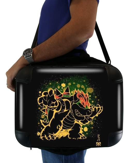 "Bowser Abstract Art for Laptop briefcase 15"" / Notebook / Tablet"