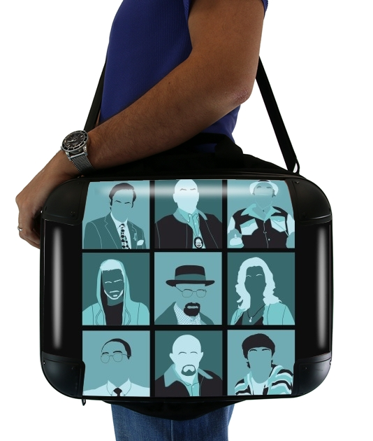 "Breaking Pop for Laptop briefcase 15"" / Notebook / Tablet"