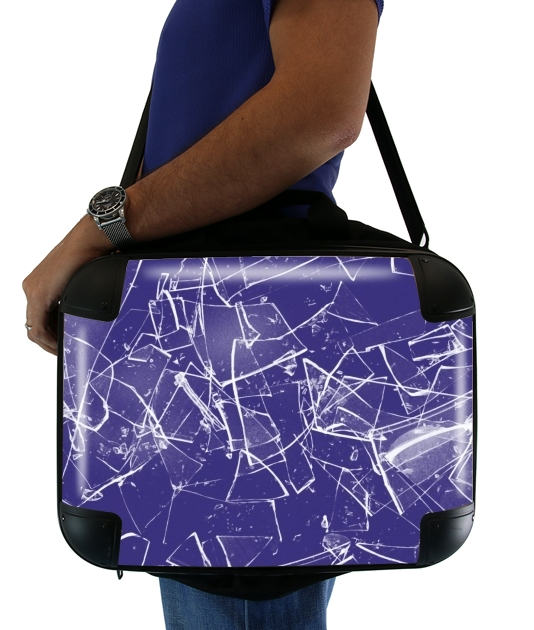 "broken glass for Laptop briefcase 15"" / Notebook / Tablet"