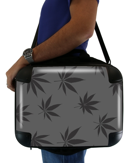 "Cannabis Leaf Pattern for Laptop briefcase 15"" / Notebook / Tablet"