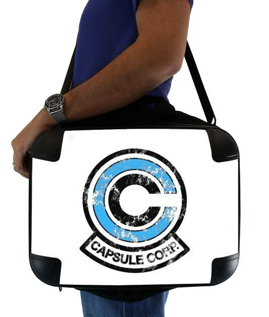 "Capsule Corp for Laptop briefcase 15"" / Notebook / Tablet"