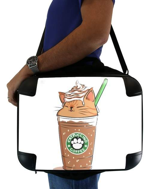 "Catpuccino Caramel for Laptop briefcase 15"" / Notebook / Tablet"