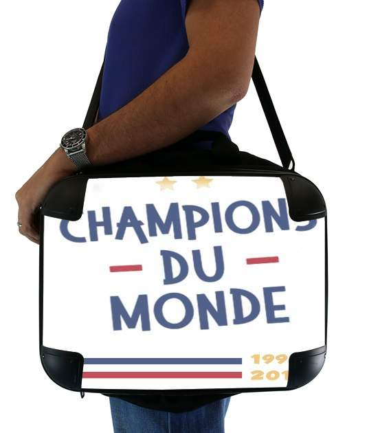 "Champion du monde 2018 Supporter France for Laptop briefcase 15"" / Notebook / Tablet"