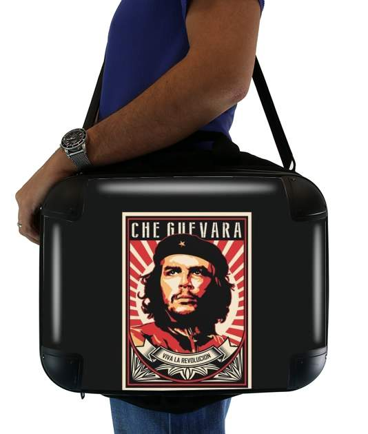 "Che Guevara Viva Revolution for Laptop briefcase 15"" / Notebook / Tablet"